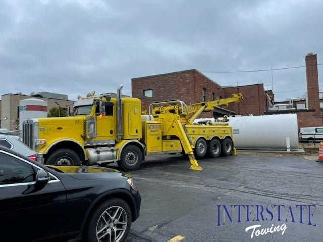 fuel tank towing